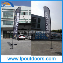 Ventas al por mayor Custom Flag Printing Feather Banners Publicidad